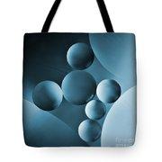 Spheres Tote Bag by Elena Nosyreva