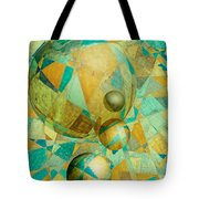 Spheres Of Life's Changes Tote Bag