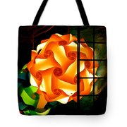Spheres Of Light Electrified Tote Bag