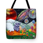 Sphinx Dude's World Tote Bag