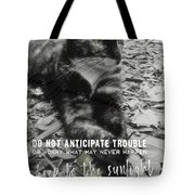 Sphinx Quote Tote Bag