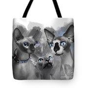 Sphynx Group No 02 Tote Bag