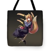 Spice And Wolf Tote Bag