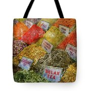 Spice Market In Istanbul Tote Bag