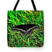 Spicebush Swallow Tail Tote Bag