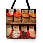 Spices  Tote Bag by Harry Spitz