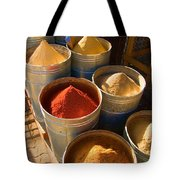 Spices In Marrakesh Morroco Tote Bag