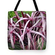 Spider Lily Tote Bag