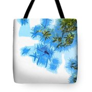 Spider Or Plants Tote Bag