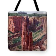 Spider Rock Overlook Tote Bag