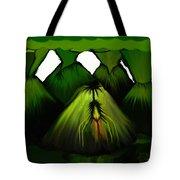 Spider Volcano Progression 5 Tote Bag