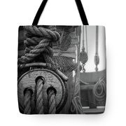 Spider Web Morning  Tote Bag