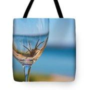 Spider Wine Tote Bag