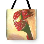 Spiderman Hiding Tote Bag