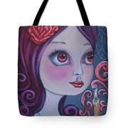 Spiderwebs By Candlelight Tote Bag