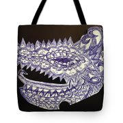 Spike Dragon Tote Bag