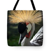 Spiked Crane Tote Bag