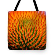 Spikey Design Tote Bag