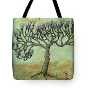 Spikey Tree No. 2 Tote Bag