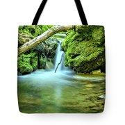 Spilling Over Dolomite Tote Bag