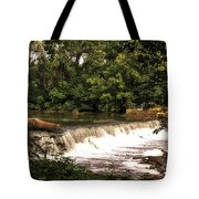 Spillway Early Morning Tote Bag