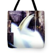 Spillway On The Canal Tote Bag