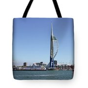 Spinnaker Tower Portsmouth England Tote Bag