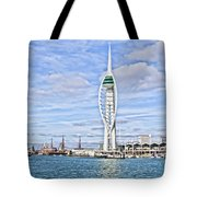 Spinnaker Tower Portsmouth Tote Bag