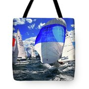Spinnakers And Sails By Kaye Menner Tote Bag