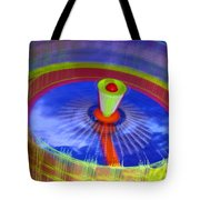 Spinning Fair Ride Tote Bag