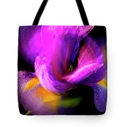 Spinning Iris Tote Bag