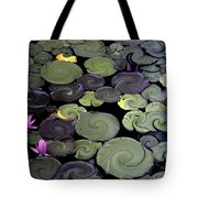 Spinning Lilies Tote Bag
