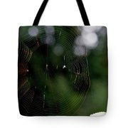 Spinning My Web Tote Bag