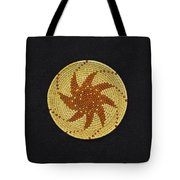 Spinning Star Double Mini Plate Basket Tote Bag