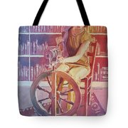 Spinning Tales Tote Bag