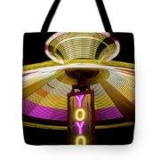 Spinning Yoyo Ride Tote Bag