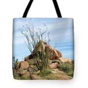 Spiny Cactus East Of Wickenburg Tote Bag