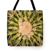 Spiny Cactus Needles Tote Bag