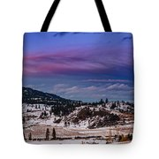 Spion Kop In Winter Tote Bag by Rod Sterling