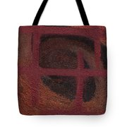 Spiral Browns Painting Tote Bag