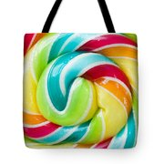 Spiral Candy  Tote Bag