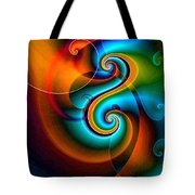 Spiral Composition 8 Tote Bag