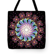 Spiral Dance Tote Bag