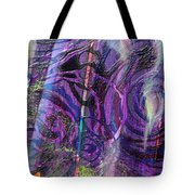 Spiral Detail From Annunciation Tote Bag