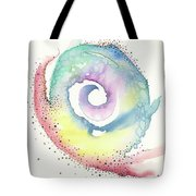 Spiral Of Emotions Tote Bag