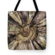 Spiral Of Forest Tote Bag