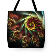 Spiral Of Riches Tote Bag