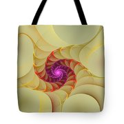Spiral Rainbow Of Color Tote Bag