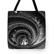 Spiral Stairs Horizontal Tote Bag