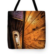 Spiral Stairwell Tote Bag